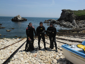 Black sea diving_AOWD Stoyan joined