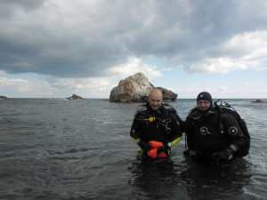 Diving in Black Sea_Joro and Miro divers