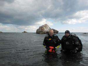 Diving in Black Sea_Joro and Miro divers