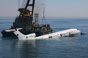 Diving in Black Sea_aircraft wreck TU154_Ognyan Stefanov